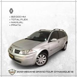 Título do anúncio: Renault MEGANE GRAND TOUR DYNAMIQUE 1.6  POSSUI SINISTRO !