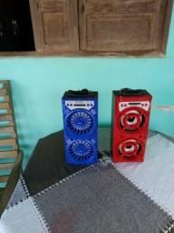 Caixa de som com mp3 mp4 bluetooth