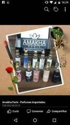 Miniaturas de perfumes importados AMAKHA PARIS