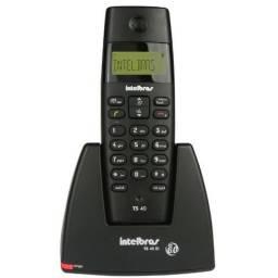 Telefone sem Fio com Identificador de Chamadas - TS40ID Preto - Intelbras