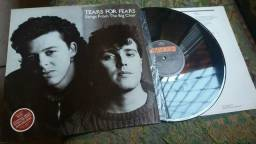 Tears for fears Songs frio ter big chair capa e Disco perfeito com encarte Rs70.00