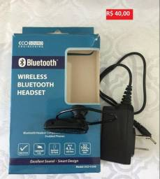Bluetooth universal Eco Sound Engineering V268 Preto