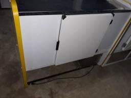 Balcao refrigerado 2 placas 1.5m