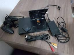 Playstation 2 Slim - Desbloqueado