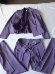 Terninhos femininos (blazer e calca social) tam 42