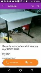 Mesa de estudo NOVA zap 999833487