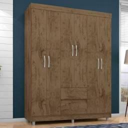 Guarda roupa 6 portas novo