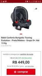Bebê conforto usado pouquíssimas vezes R$150