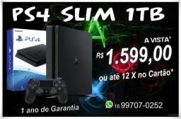 Playstation 4 Slim 1TB (Garantia 1 Ano)