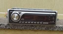 Rádio para carro JVC