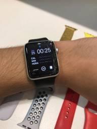 Apple Watch Nike+ series 3 com caixa (tela quebrada)