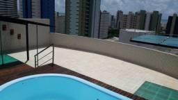 Exc:Cobertura c/393,53m² Nascente 5qtos 4stes 4 vagas solarium piscina vista p/mar
