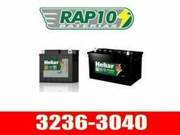Baterias Heliar 60AH nova, frete grátis