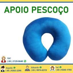Almofada Macia de Pescoço Azul Aumofada Pescoso Azu Macio