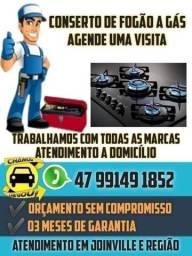 Consertos de fogão Joinville