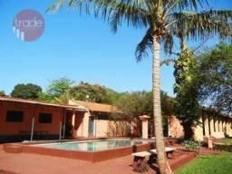 Chácara com 3 dormitórios para alugar, 4000 m² por R$ 6.500,00/mês - Jardim Florestan Fern