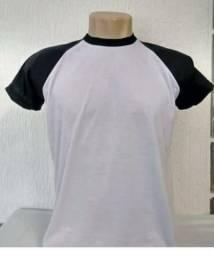 Camisetas lisas e personalizadas