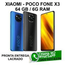 Lançamento Xiaomi Poco Fone X3 64Gb/6G Ram Lacrado * Pronta Entrega