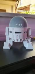 Suporte Apoio Mesa Droid Amazon Echo Dot 4ª Geração R2D2 de Star Wars