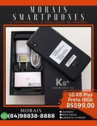 LG K8 Plus 16Gb Preto (SMARTPHONE LACRADO+NOTA E GARANTIA) ( 8 4 ) 9 8 8 3 8 - 8 8 8 8