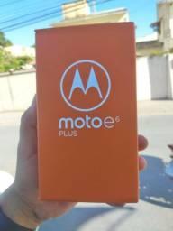 Moto E6 Plus novo na Caixa. Acc cartao