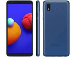 Smartphone Samsung Galaxy A01 Core 32GB Azul - Quad-Core 2GB RAM <br><br>