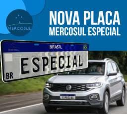 Nova Placa Mercosul !!