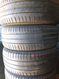 Pneus 1955516/Michelin seminovos valor 195$$ cada