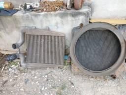 Radiador e Intercooler do MB 1620