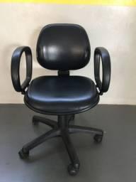Cadeira Diretor Preta Escritório Home Office