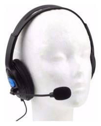 Fone Headset Gamer Com Led para Ps3 4 e Smartphones saída P2