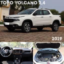 Fiat Toro Volcano 2.4 automático 2019 - Imperdível - Periciado