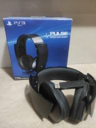 Headset Wireless Stereo Sony 7.1 Pulse