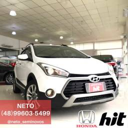 NETO - Hyundai HB20X Premium 1.6 Automático 2018 cor Branco - 44 mil km