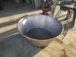 Fábricamos tachos de inox a vapor e mexedores
