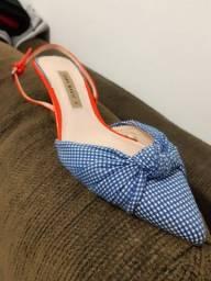 Sapato Salto Zara Basic