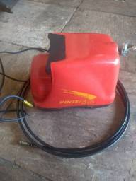 Vendo compressor  220 watts.. completo + kit aerográfico profissional