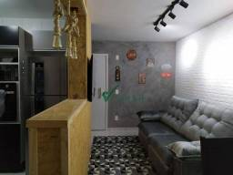 Apartamento com 2 dormitórios à venda, 46 m² por R$ 180.000,00 - São Geraldo - Santa Luzia