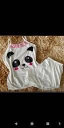 Pijamas de algodão