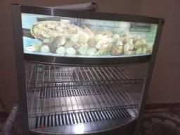 Título do anúncio: Estufa quente ?vitrine para padaria ou lanchonete  com 7 bandeijas