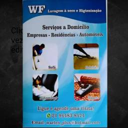 WF Lavagem a seco Higienização sofá