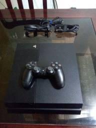 PS4 500gb 1 controle