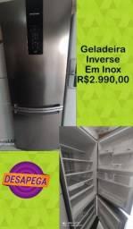 Título do anúncio: GELADEIRA INVERSE