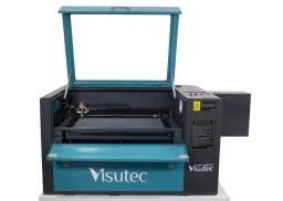 Máquina Router Laser Cnc Vs6040 Al corte e gravação 60x40cm 60w sem pedestal Visutec