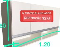 Título do anúncio: Armario de cozinhar dê parede 100% mdf com 4 portas promoção