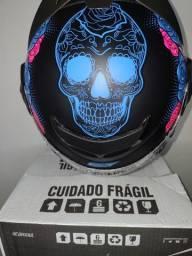 Capacetes Pro Tork fechado Caveira Mexicana Novo na caixa Promoção!!! R$249,00!