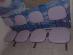 Cadeiras para consultório sala de espera