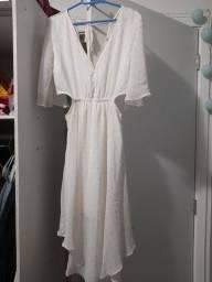 Vestido branco fachion N. 38/40