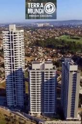 Título do anúncio: 3 Quartos.Apartamento 106M Terra Mundi Parque Cascavel