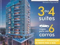 Apartamento Residencial Guadalupe III com vista permanente para o mar Balneário Piçarras